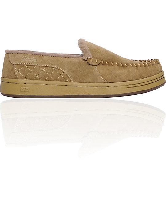 Globe Shoes Castro Khaki Slippers