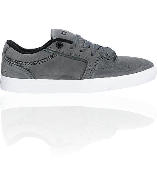 Globe Shoes Eaze Appleyard Steel & Black Skate Shoes