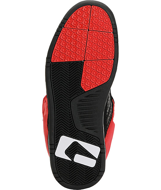 Globe Shoes Liberty Black & Red Skate Shoes