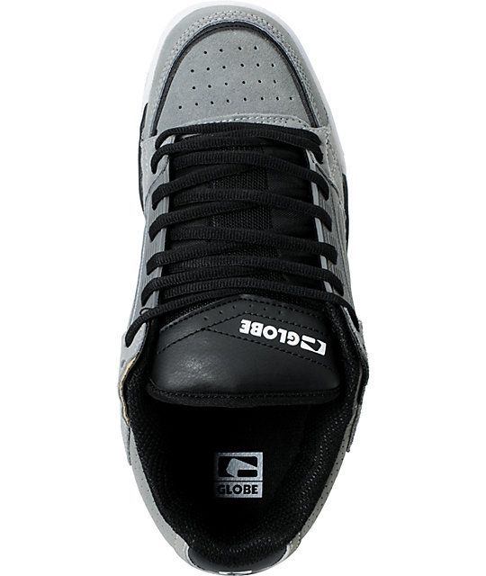 Globe Shoes Liberty Neutral Grey & Black Skate Shoes