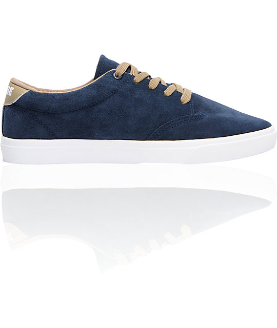 Globe Shoes Lighthouse Navy & Light Taupe Skate Shoes