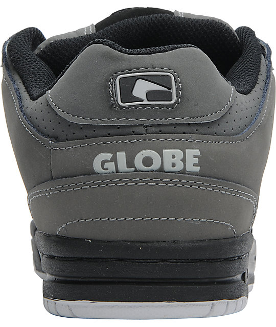 Globe Shoes Scribe Black & Charcoal Skate Shoes