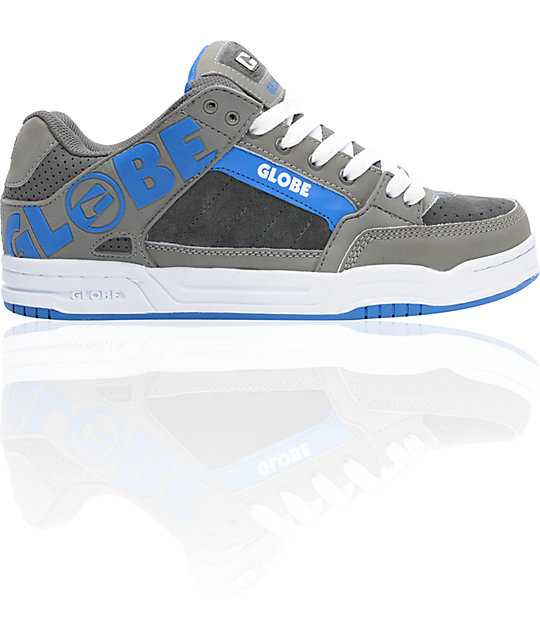 Globe Shoes Tilt Charcoal, Griffin, & Cobalt Skate Shoes