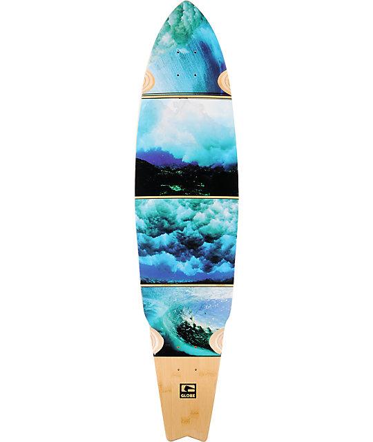 "Globe Underwater 42""  Bamboo Cruiser Longboard Deck"