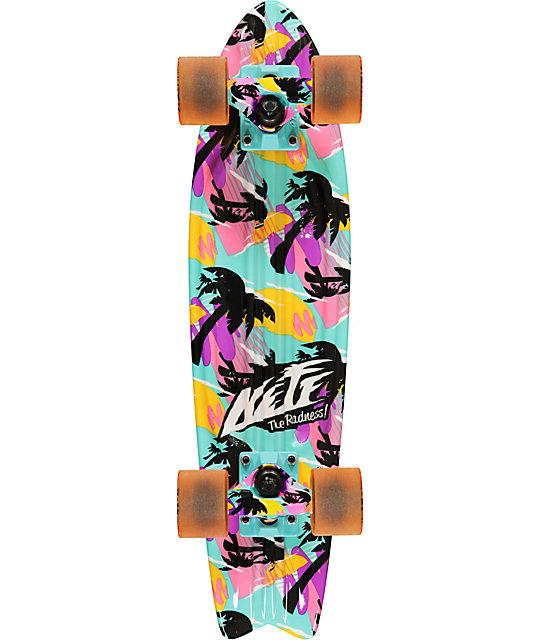 "Globe X Neff Palms Bantam 24""  Complete Cruiser Skateboard"