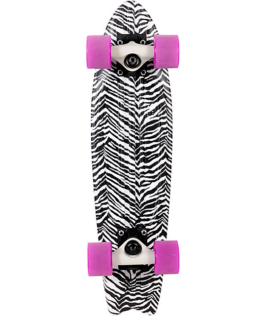 """Globe Zebra Bantam ST 24""""  Complete Cruiser Skateboard"""