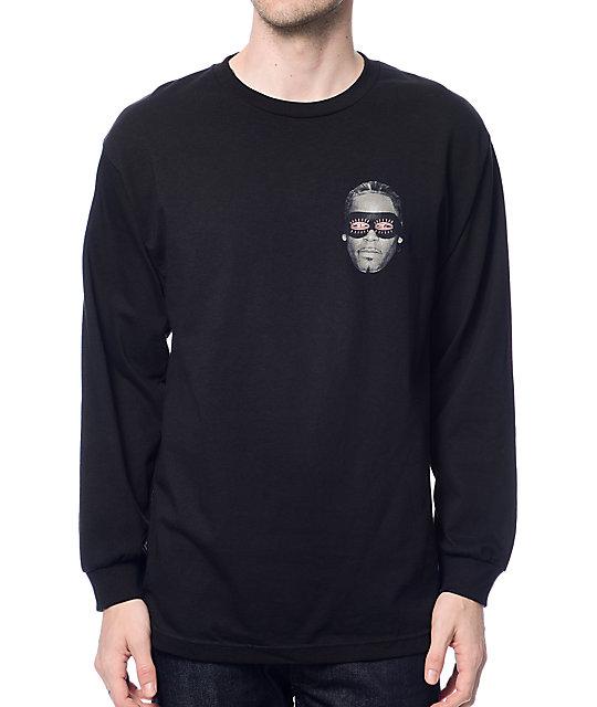Gnarly Gnar Kelly Black Long Sleeve T-Shirt