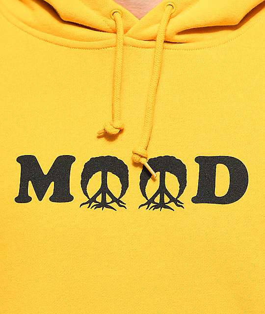 ... Gnarly Mood Yellow Hoodie