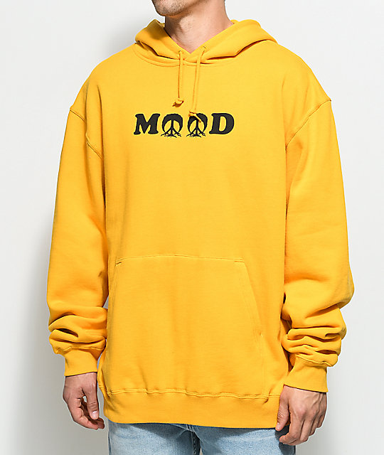 Yellow Mood mood yellow hoodie