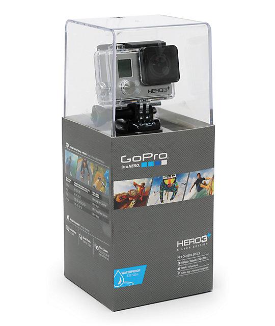 GoPro HERO3+ Silver Edition HD Camera
