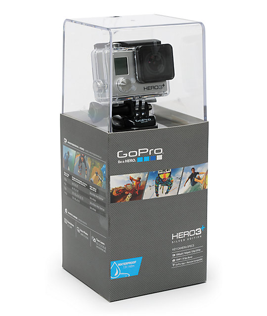 gopro hero3 silver edition hd camera. Black Bedroom Furniture Sets. Home Design Ideas
