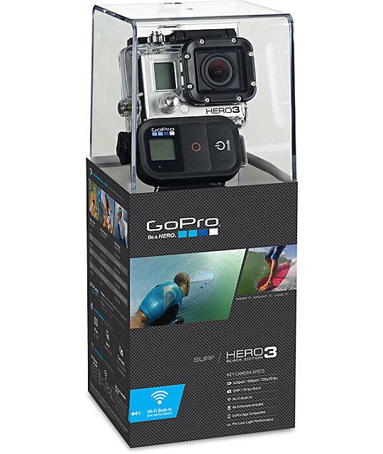 gopro hero3 black edition surf hd camera at zumiez pdp. Black Bedroom Furniture Sets. Home Design Ideas