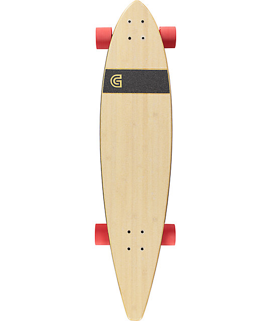 "Gold Coast Aesop 40"" Pintail Longboard Complete"