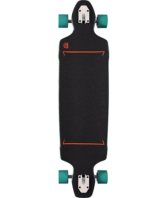 "Gold Coast Infinitas 40.5""  Drop Through Longboard Complete"