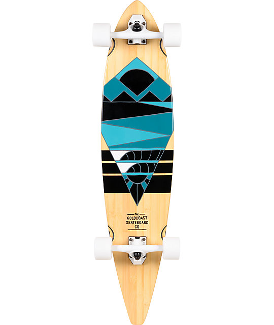 "Gold Coast Neptune 40""  Pintail Longboard Complete"