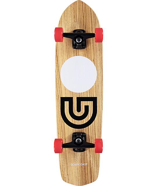 "Gold Coast Slap Stick Zebra 31""  Cruiser Complete Skateboard"