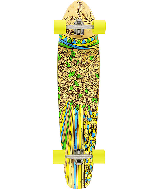 "Gold Coast Snapper 44""  Bamboo Longboard Complete"