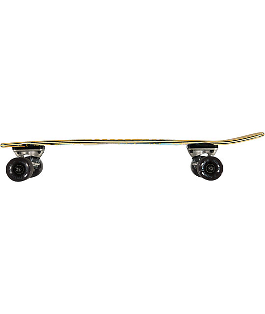 "Gold Coast The Salvo 7.5""  Mini Cruiser Complete Skateboard"