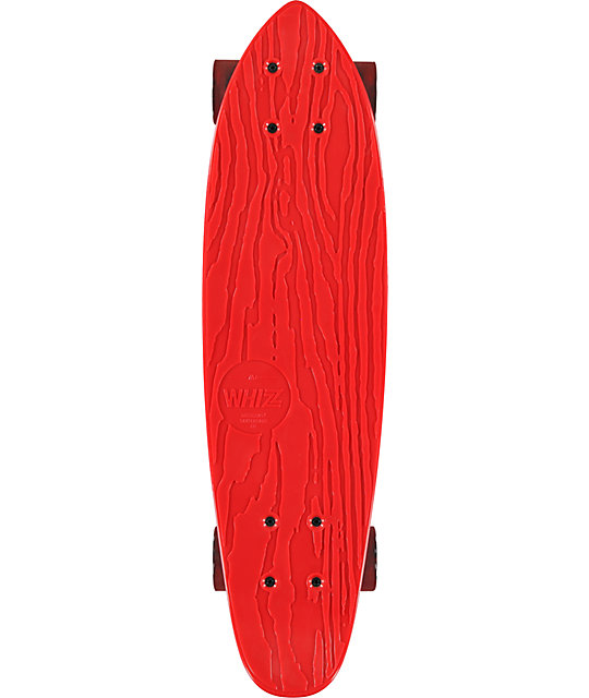 "Gold Coast Whizz 24""  Red Cruiser Complete"