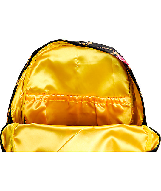 Gold Wheels Gold Chains Backpack