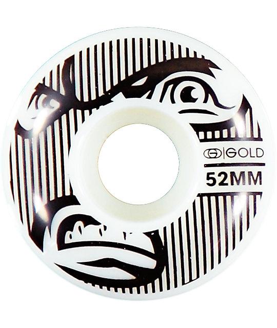 Gold Wheels Goons 52mm Skateboard Wheels