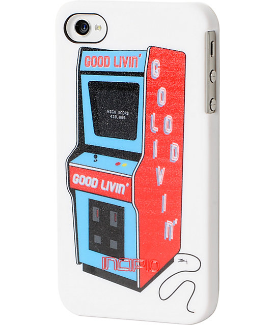 Good Livin x Incipio 80s Arcade iPhone 4 Or 4s Case