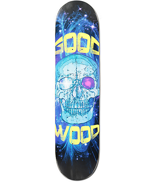 "Goodwood Cosmic Skull 7.75""  Skateboard Deck"