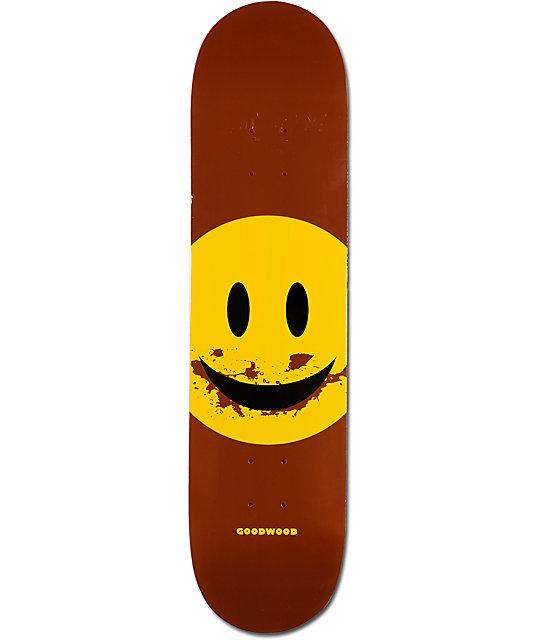 """Goodwood Dirt Eating 7.75""""  Skateboard Deck"""