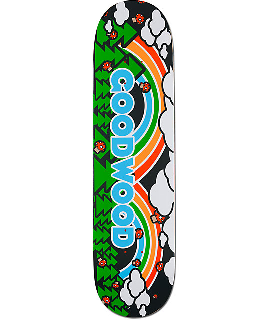 "Goodwood Double Rainbow 8.0""  Skateboard Deck"