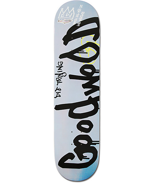 "Goodwood Fish Graffiti 7.75""  Skateboard Deck"