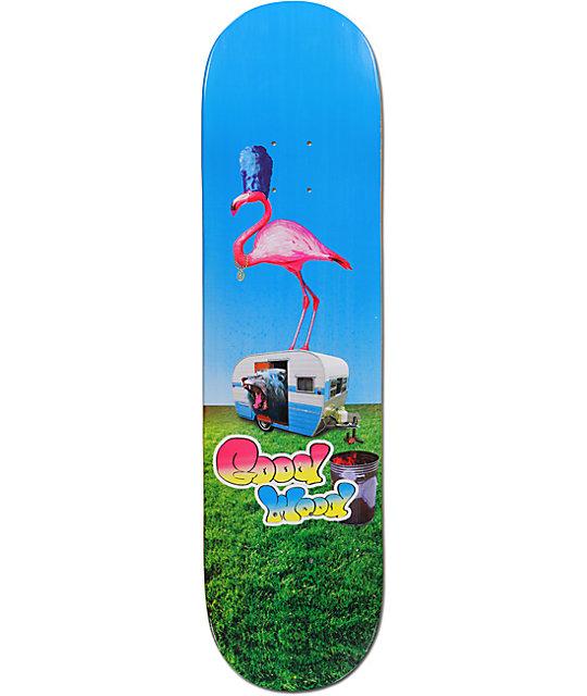 "Goodwood Flamingo 8.25""  Skateboard Deck"