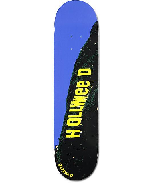 "Goodwood Hollyweed 7.75"" Skateboard Deck"