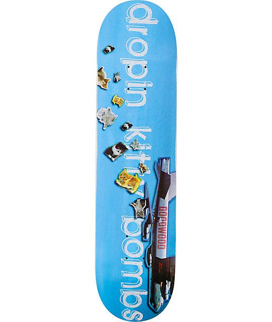 "Goodwood Kitty Bombs 7.75""  Skateboard Deck"