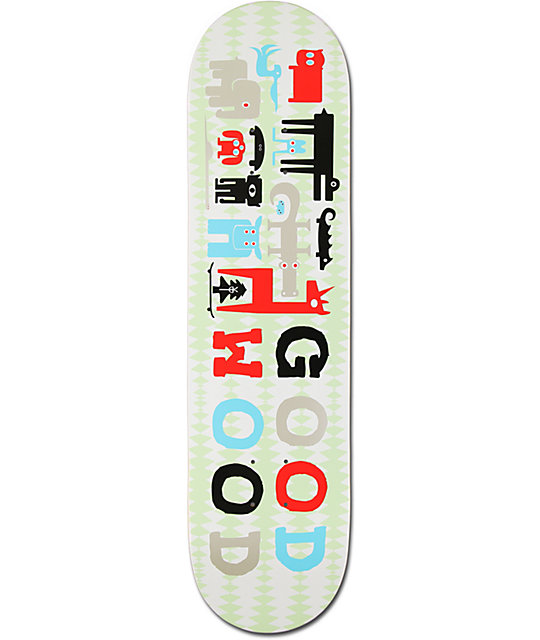 "Goodwood Pictograph 8.0""  Skateboard Deck"