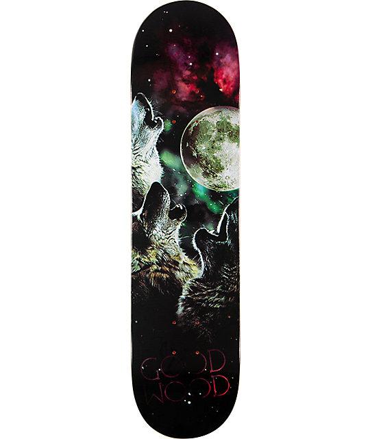 """Goodwood Wolf Moon 7.75""""  Skateboard Deck"""
