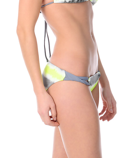 Gossip Wipe Out Neon, Grey & White Loop Side Hipster Bottom