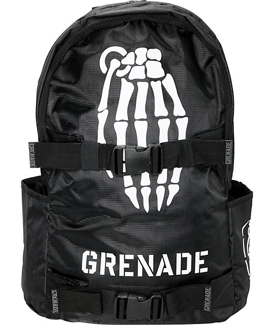 Grenade Black Skullbomb Backpack