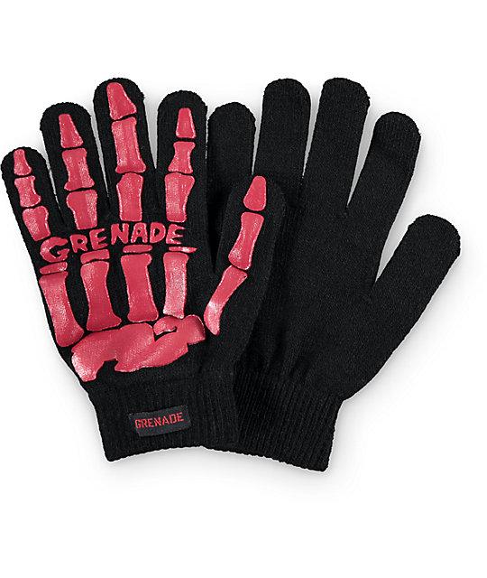 Grenade Bones Knit Gloves