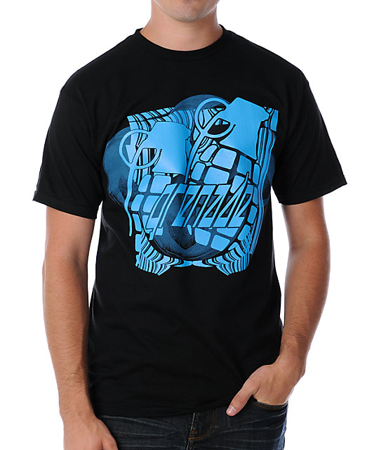 Grenade Bubbler Black T-Shirt