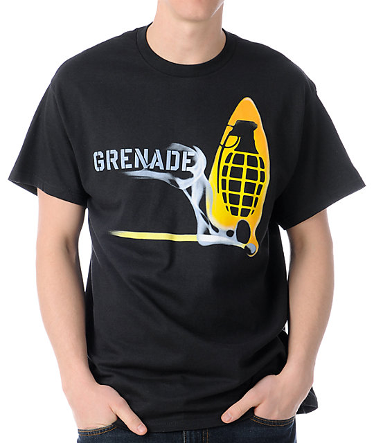 Grenade Match Bomb Black T-Shirt