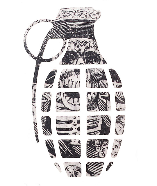 Grenade Posada Die-Cut 8.5 Sticker