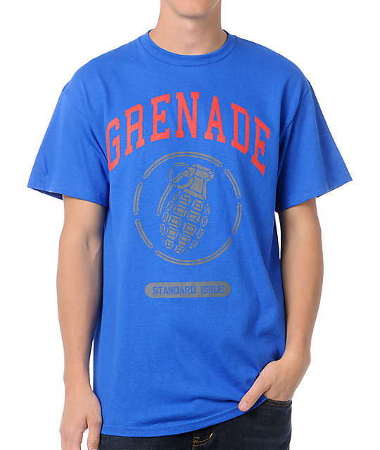 Grenade Stadium Logo Blue T-Shirt