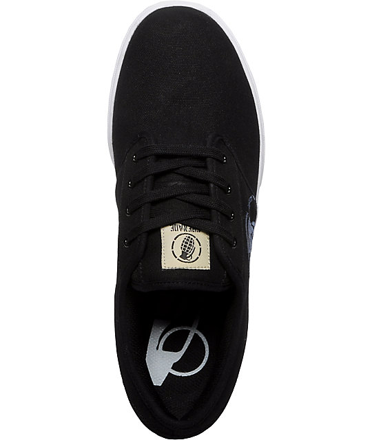 Grenade Unlaced Black Shoes