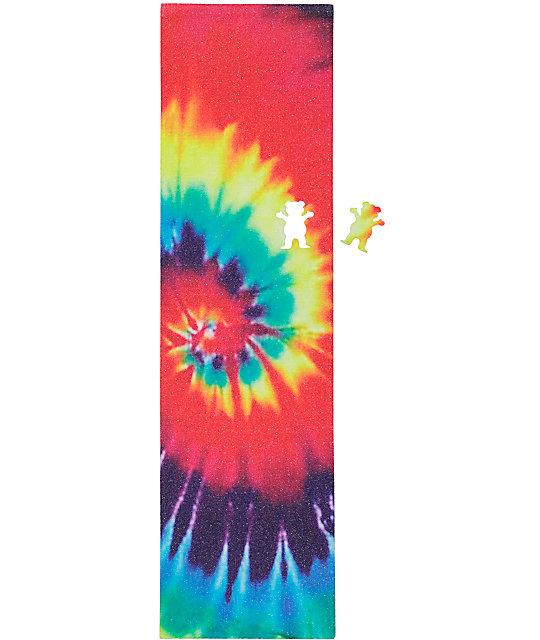 Grizzly Tie Dye Cutout Grip Tape | Zumiez