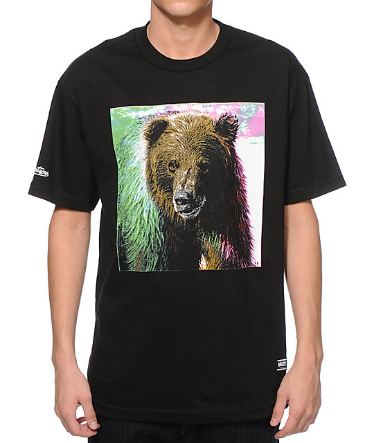 Grizzly Tie Dye Fur T-Shirt at Zumiez : PDP