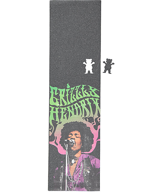 Grizzly X Hendrix Washed Griptape