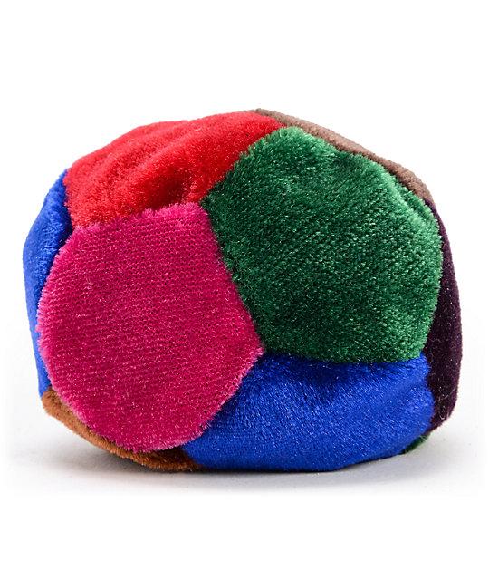 Guatemalart 4-Color Suede Hacky Sack