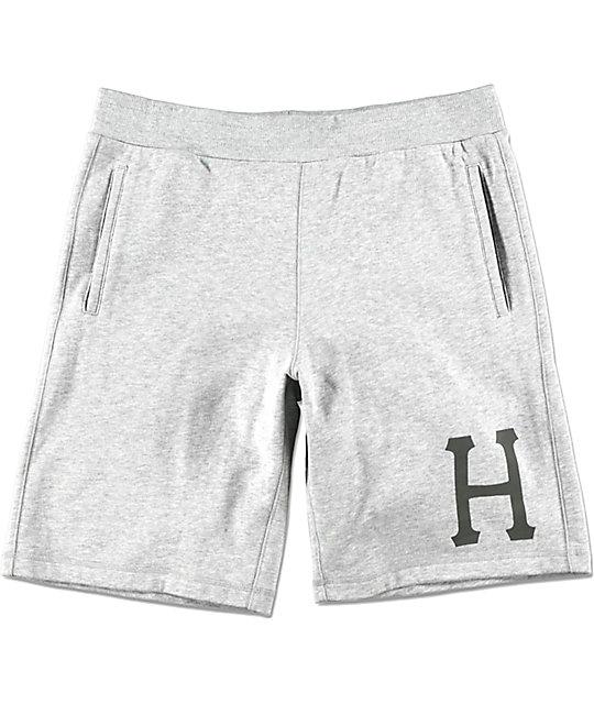 HUF 3M Classic H Grey Fleece Shorts