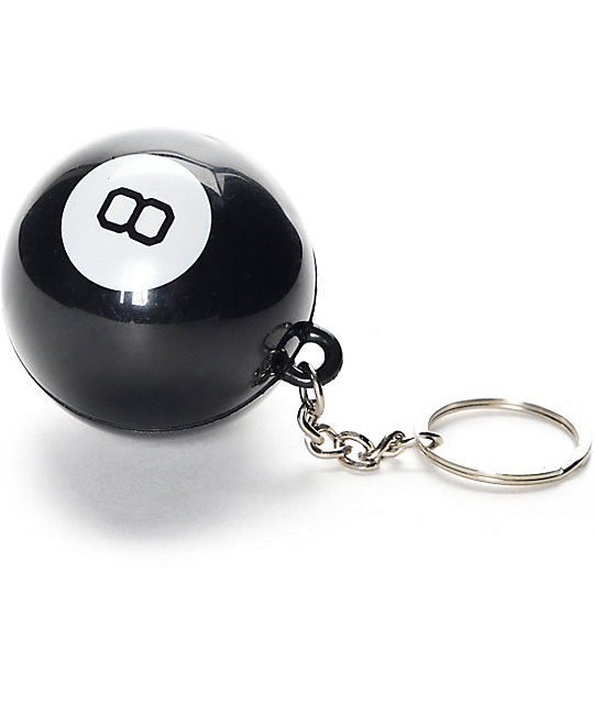 HUF 8 Ball Keychain