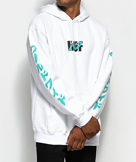 Asa White Pullover Hoodie